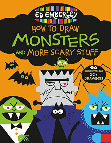 Draw Monsters and More Scary Stuff (Grad-3-halloween-kunst)