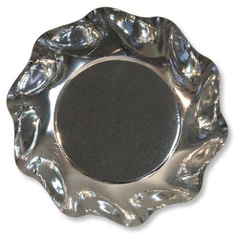 10 Assiettes coupelle blanc perlé
