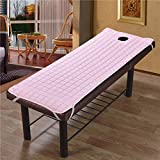 Liamostee Non-slip Soliod Color Rectangle Mattress for Beauty Salon Massage Therapy Bed