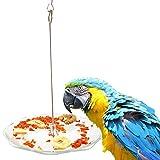 Cutepet Giocattolo Da Masticare Per Uccelli Pappagalli Distributore Di Cibo Da Appendere Alla Gabbia,20Cm