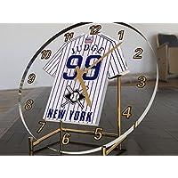 MAJOR-LEAGUE de base de la liga Americana MLB Jersey bola de escritorio nombre del reloj, número, el equipo de personalización gratuita! - New York Yankees