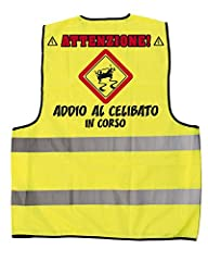 Idea Regalo - Bombo Gilet Addio al Celibato.