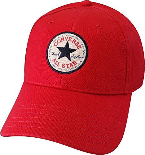 Converse -  Cappellino da baseball  - Uomo Red Taglia unica