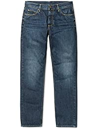 CARHARTT WIP - Jean - Homme - Jeans Tapered Fit Texas Hanford Bleu Naturel Délavé pour homme