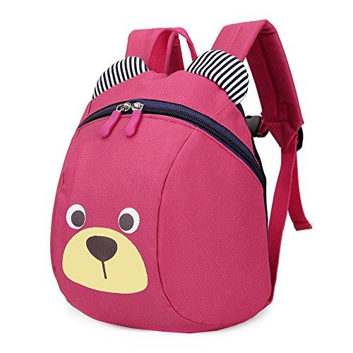 Imagen de fristone  para niños / pequeña bebes guarderia bolsa con arneses de seguridad,rosa roja