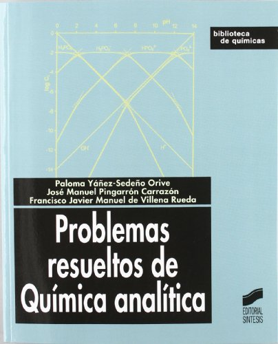 Problemas resueltos de química analítica (Biblioteca de químicas) por Paloma Yáñez-Sedeño Orive