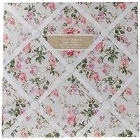 Tessuto floreale vintage Memo promemoria Pin Board