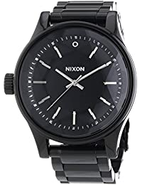 Nixon Damen-Armbanduhr Facet All Black Analog Quarz Edelstahl A384001-00