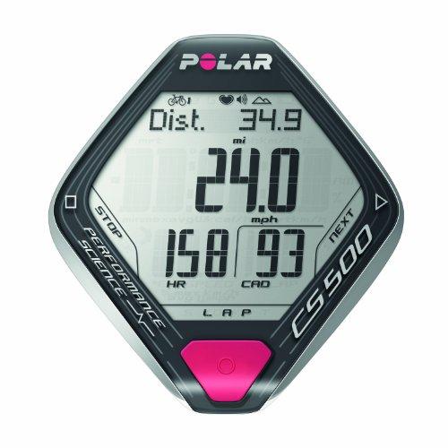 Polar CS500+ Cardiofrequenzimetro, Grigio