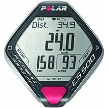Polar CS500+ - Ciclocomputador con pulsómetro de entrenamiento RCX5 para ciclismo