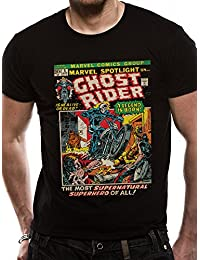 CID Men's Marvel Ghostrider Comic T-Shirt