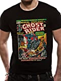 Cid Marvel Comics - Ghostrider Comic T-Shirt Homme Multicolore FR : L (Taille Fabricant : L)