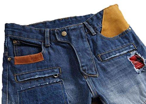 HJMTRY Mode Jeans, Hommes Automne Et Hiver Modèles, Pantalons Personnalisés Pantalons Jeunes color