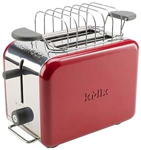 kenwood kmix ttm021 2 slot toaster raspberry red amazon. Black Bedroom Furniture Sets. Home Design Ideas