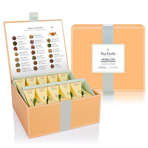 Caja Té Herbal Surtido Degustación 40 infusores