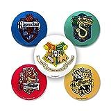 #4: Efgstore.in: (Official Warner Bros) Harry Potter Hogwarts Badge Set