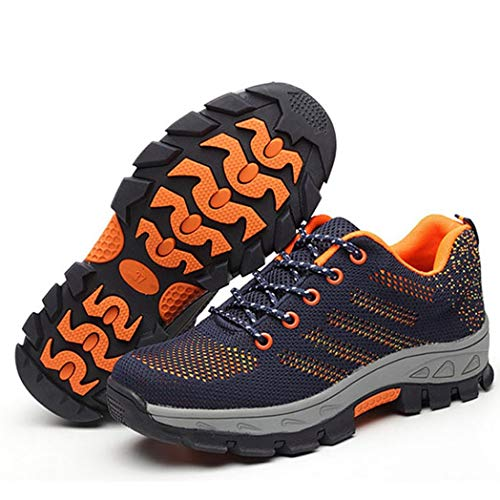 Sneakers da Lavoro da Donna Anti-fracassanti da Trekking da Escursione per Esterni Scarpe da Tennis Traspiranti da Donna