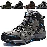 ac517fe741ceb KAMIXIN Chaussures de Randonnée Hommes Chaussures de Marche Antidérapant  Outdoor Sports Bottes de Marche Chaussures Montagne