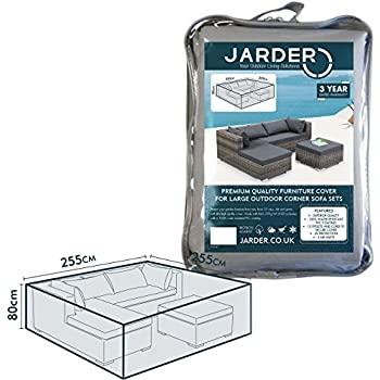 Jarder Garden Corner Sofa Set Cover | 100% Water Resistant | High Quality
