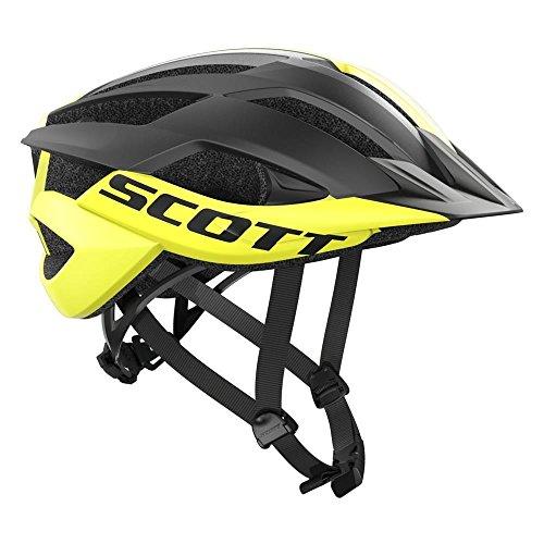 Scott Arx MTB Fahrrad Helm gelb/schwarz 2018: Größe: M (55-59cm)