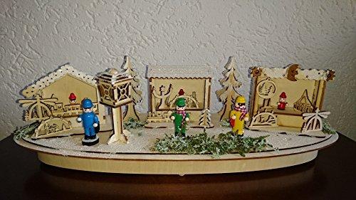 Holz-Steckmotiv Kentop Weihnachten