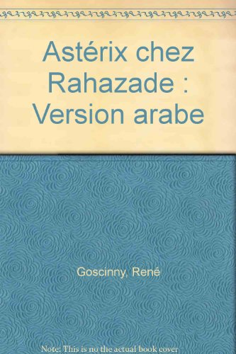 Astérix chez Rahazade : Version arabe