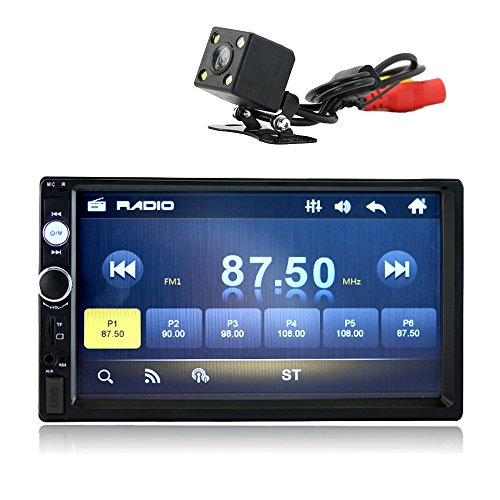 kidcia-7-double-din-touch-screen-car-stereo-indash-with-bluetooth-rear-view-camera-remote-controlcar