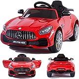 CROOZA - MERCEDES Mercedes-Benz GT-R GTR SoftStart Kinderauto Kinderfahrzeug Kinder Elektroauto Rot