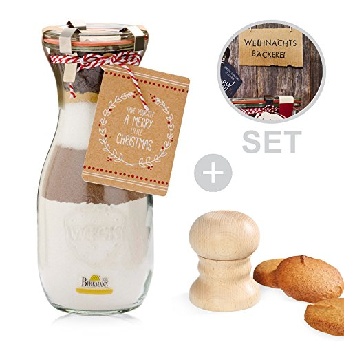 Set–Molde para pan + Back mezcla Little Christmas 502697+ 0815202500