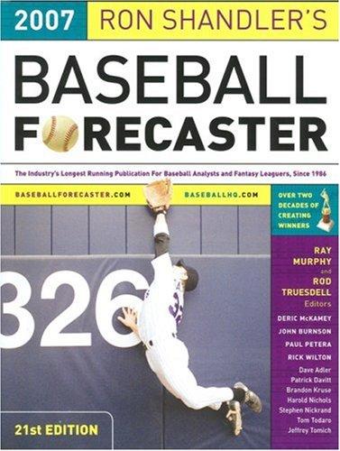 Ron Shandler's Baseball Forecaster 2007 por Ron Shandler
