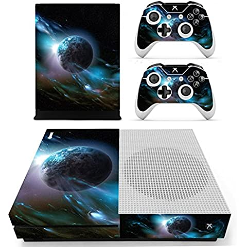 DOTBUY Vinile modello skin sticker decalcomanie della pelle per Xbox One S Console & Wireless Controller (Dark Earth)