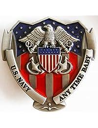 Buckle U.S. Navy, Any Time Baby, USA - Gürtelschnalle