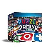 Cranio Creations- Puzzle Domino-Gioco da Tavolo, Multicolore, CC105