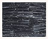 1 Muster W-007 Schiefer Wand-Design Naturstein Steinwand Wandverkleidung Mosaikfliesen Verblender Lager Verkauf Stein-Mosaik Herne NRW