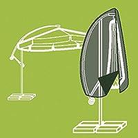 Siena Garden Housse parasol déporté avec baguette tissu en polyester Oxford, 300cm, anthracite/gris