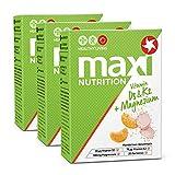 MaxiNutrition Vitamin D3 & K2 + Magnesium Brausetabletten - Sportgetränk für gesunde Knochen mit natürlichen Mineralstoffen und Vitaminen - 3er Pack (3 x 20 Vitamin Brausetabletten)