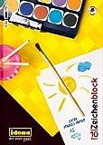 5 Zeichenblöcke/10 Blatt je Block/Malblock DIN A2/120g/m²