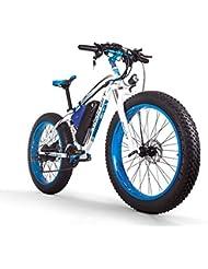 RICH BIT Bicicleta eléctrica para hombres E-bike Fat Snow Bike 1000W-48V-