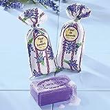 Lavendel-Set, Lavendelduft für Ihre Wohnung, 2 Duftsäckchen (je 18 g) und 1 Seife (100 g)