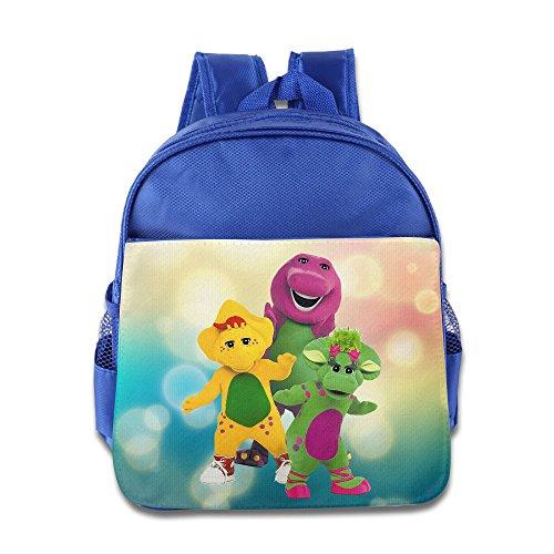 Barney und Freunde Kind hisper Lunch Bag School Bag Blau Königsblau Einheitsgröße