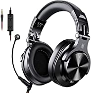 Oneodio Gaming Headset Studio DJ Headphones Stereo Over Ear Wired Headphone With Microphone For PC PS4 Xbox On