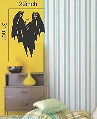 Costumes Pumpkin Scarecrow - Large--Easy instant decoration wall sticker wall mural