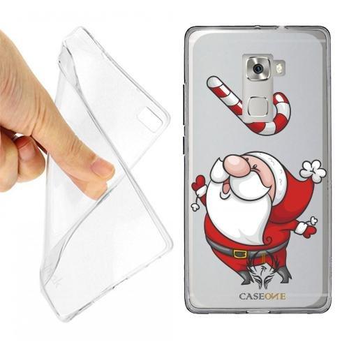 Custodia Cover Case Babbo Natale GOLOSO per Huawei...