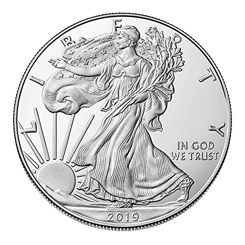 United States Mint 1 OZ Silber Silver Münze 1 Unze - Silver Eagle 2019 -