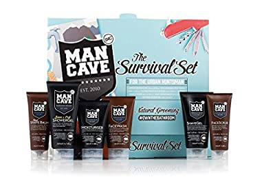 ManCave Natural Survival Gift Set by ManCave