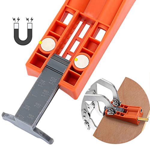 TAOtTAO Holzbearbeitungswerkzeug, 9,5 mm, schräges Loch, Möbelstanzen, Holz - Herde Jumper