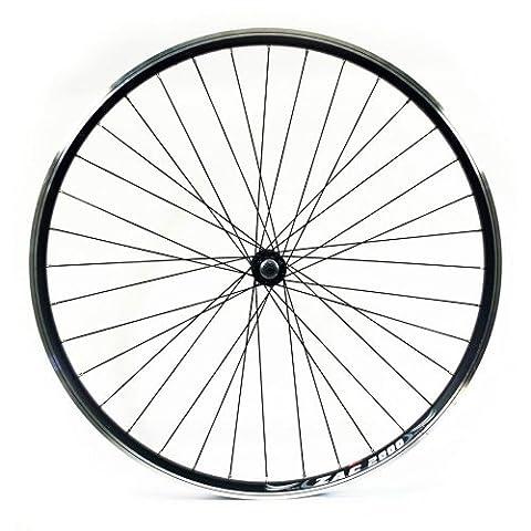 Wilkinson Front Wheel 36 Hole Hybrid Black Double Wall Rim,