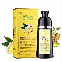 MOKERU Old Ginger King Black Hair Dyeing Shampoo 500ml,5 Minutes Fast Coloring