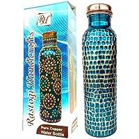 Rastogi artesanías nueva creación cobre botella de agua para Ayurveda salud beneficios martillado a mano Tumbler