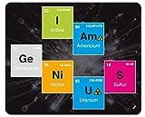 Humour Tapis De Souris - I Am Genius, Iode, AMéricium, Germanium, Nickel, Soufre (23 x 19 cm)